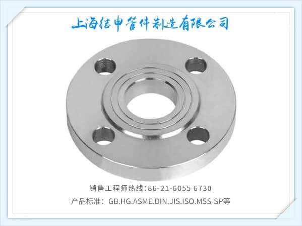 突面板式平焊钢制管法兰